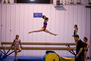This picture doesn't show Mari's amazing leaps but it's still pretty darn good.